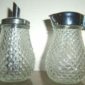 Other - Vintage 2 piece sugar syrup/honey serving set